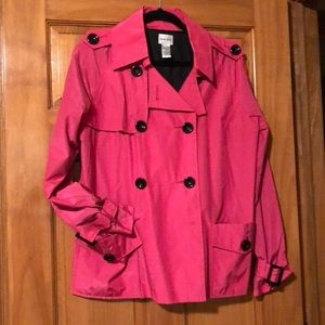 Chico's size 2 pink jacket